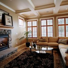 Decoration: wood window trim a series white windows interior in st traditio Paint Colors For Living Room, My Living Room, Home And Living, Room Paint, Room Colors, Wall Colors, Cozy Living, House Trim, Up House