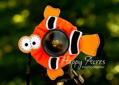 Lens Bling  Clown Fish  Ready to Ship by HappyAcresFarm on Etsy, $20.00
