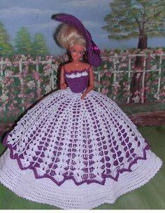 CROCHET FASHION DOLL PATTERN-ICS DESIGNS-234 LADY CAROLINE in Crafts, Needlecrafts & Yarn, Crocheting & Knitting | eBay