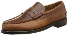 Sebago Men's Classic Leather Loafer #shoes   Sebago Men's Classic Leather Loafer Classic beef-roll penny moc, Sebago style. These 76654 Sebago Men's Classic Men's Casual Shoes in Antique Brown have a positive fit handsewn construction. Dual tanned leather outsole with rubber heel. Patented Sebago welt construction.Corrected Grain LeatherLeather SockliningSebago™ Patented WeltSteel ShankHandsewn, Positive Fit Moccasin ConstructionDual Tanned, Oil Treated Leather OutsoleRubber Heel  ..