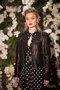 Bella Heathcote attends the Ralph Lauren February 2017 Collection Show #NYFW