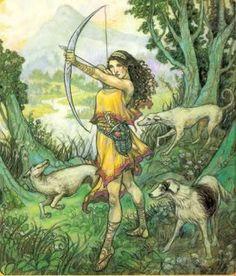 Yunan Mitolojisi: Olymposlu Büyükler: Artemis (Lat.Diana)