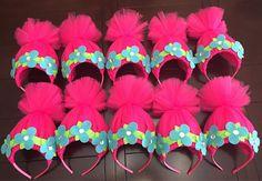 trolls headband pink troll headband trolls hair pink trolls