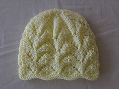 Ravelry: Ripple Eyelet Baby Hat pattern by Bonnie Brann