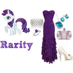 Rarity, created by nm1234 on Polyvore