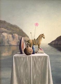 Victor Muller - Paard en schelpen