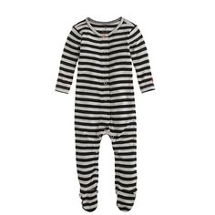J.Crew - Baby footed one-piece in stripe