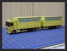Mercedes-Benz Actros 2536 6×2 Megaspace Truck Paper Model Free Download