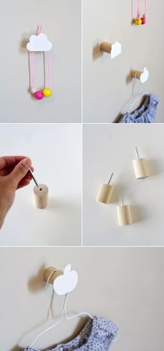 Adorable for an elementary school classroom. Get the DIY here.