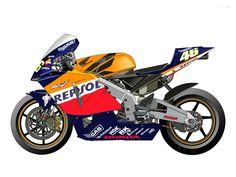 Honda RC211V 2003 - Repsol