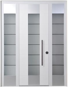 Clean makes a difference. The double glass Manhattan Door is the product of the space concept as a raw element for the creation of the interior design, without any need for decorations or excessive details.  The inspiration is contemporary, with clean lines, a clear geometry, large spaces, innovation and breaking rules.