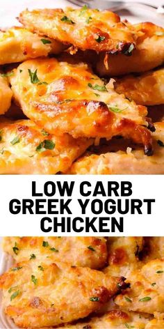 Low Carb Greek Yogurt Chicken Are you looking for great, easy and healthy chicken dinner? Or, a low carb chicken recipe? Well, this greek yogurt chicken, made with a splash of mayonnaise will become. Easy Chicken Dinner Recipes, Healthy Chicken Dinner, Low Carb Chicken Recipes, Turkey Recipes, Diet Recipes, Easy Meals, Cooking Recipes, Healthy Recipes, Easy Recipes
