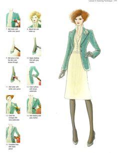 Contemporary Fashion Illustration Techniques Nakoi Watanabe (2008)