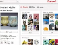 Interest in Pinterest