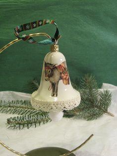 Christmas bell - donkey