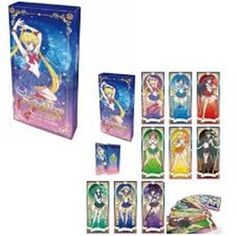 Contact your inner Sailor Guardian with this super lovely Anniversary Edition Sailor Moon tarot deck! Card size measures with a total of 22 cards inside the deck. Deck printed as a limited edition run from a Toei pop-up shop in Taiwan! Tarot Card Decks, Tarot Cards, Wiccan, Witchcraft, Sailor Moon Collectibles, Tarot Gratis, Crystal Garland, Anime Gifts, Cute Gay