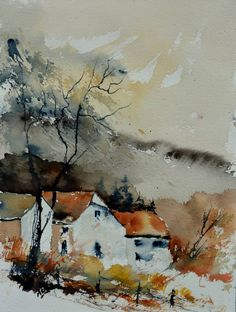 watercolor 31  x 41  cm
