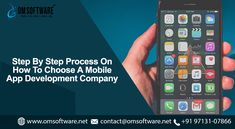 When it comes to choosing a top of the mark Mobile app development company, the name you can trust is naturally OMSOFTWARE. Mobile App Development Companies, Technology, Blog, Tech, Tecnologia