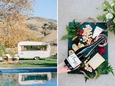 Tinker Tin Trailer Co. New Year's Eve Party Inspiration, with our 1961 Shasta Bar with Sidecar Cocktail Co.