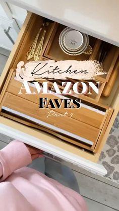 Best Amazon Buys, Best Amazon Products, Home Organization Hacks, Kitchen Organization, Home Gadgets, Kitchen Gadgets, Cool Gadgets To Buy, Amazon Gadgets, Home Hacks