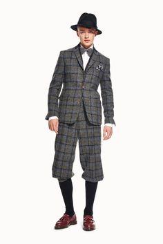 HvE | Knickerbocker-Anzug aus Harris Tweed