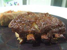 Crock Pot Ribs-BBQ