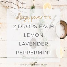 Allergy Relief With Essential Oils, allergy power trio essential oil blend to take internally to relieve seasonal allergies >> Eight Pepperberries Essential Oils Allergies, Sinus Allergies, Essential Oil Diffuser Blends, Doterra Diffuser, Allergy Relief, Seasonal Allergies, Young Living Oils, Yl Oils, Doterra Oils