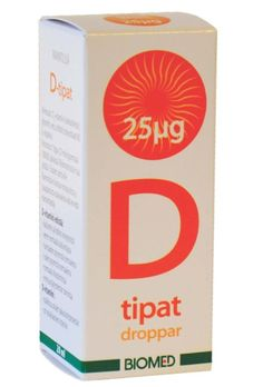 Biomed D-tipat 25μg (tarjous 9,50e, norm. 11,90e)