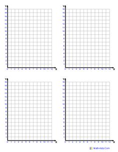Standard Graphing Paper you may select either 1/10, 1/4, 3