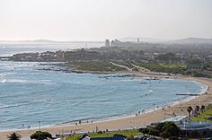 Gordons Bay main beach - Sunday afternoon in spring. Mountain Range, Cape Town, Bay Area, Continents, South Africa, Holland, Maine, Coastal, Scenery