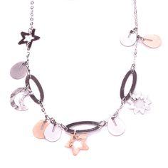 Κολιέ λευκόχρυσo αστέρι φεγγάρι κ14 4976 Jewels, Bracelets, Silver, Jewerly, Bracelet, Gemstones, Fine Jewelry, Gem, Arm Bracelets