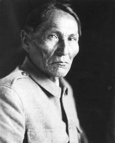 Chief Naiche (ca. 1857-1919). Youngest son of Cochise. Final hereditary chief of the Chiricahua band of Apache. By ??? (1913).