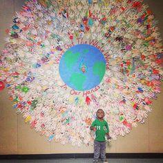 Global Bulletin Board Ideas: Creating a Welcoming School Evironment