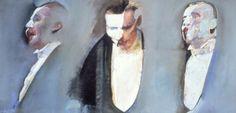 Robert Heindel's painting of Michael Crawford as the Phantom of the Opera. Hunger Games Exhibition, Adventure Film, Phantom Of The Opera, Football Cards, Book Art, Beast, Artsy, Portrait, Illustration