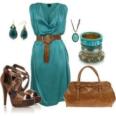light sea green outfit set: