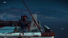 Just Cause 3 - Lets Play - How To Tow A Car Incorrectly