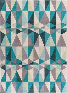 Cosmopolitan Teal/Taupe Area Rug:  pull some of the teal from the rug into throw pillows or cushions on the bed, or up onto the couch & loveseat.