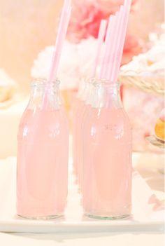 . . . pink drinks