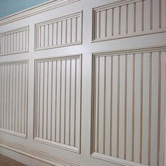wainscoting diy buy pre made wainscotnail to wallpaint for the home pinterest wainscoting walls and moldings - Wainscoting Design Ideas