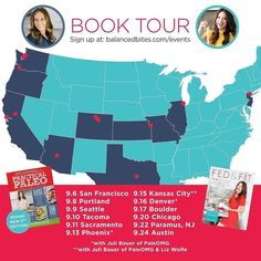 Can you help me out? Please tag your friends because lots of folks haven't seen this and we don't want anyone in these areas to miss out! We can't wait to meet you all!!! WILL WE SEE YOU THERE?! @fedandfit and I are going to TOUR TOGETHER to come meet all you awesome people this fall! WE ARE SO EXCITED!!! Sign up for the event near you at  http://ift.tt/2bMeFP9 (tap the live link in my bio to get there) ##  9/6  San Francisco CA  9/8  Portland OR (Clackamas)  9/9  Seattle WA (Lake Forest…