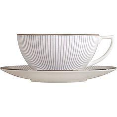 Buy Jasper Conran for Wedgwood Pinstripe Tea Cup Online at johnlewis.com