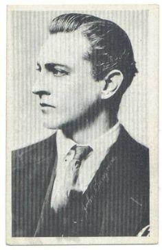 1917 John Barrymore Kromo Gravure Trading Card