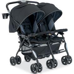 Combi Cosmo Twin Stroller - Black