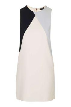 Colour Block Shift Dress - Sale - Sale & Offers - Topshop