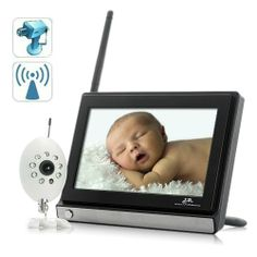 Baby Video Monitor -  Pin it :-) Follow us .. CLICK IMAGE TWICE for our BEST PRICING ... SEE A LARGER SELECTION of  baby video monitor  at http://zbabybaby.com/category/baby-categories/baby-safety/baby-video-monitor/   - gift ideas, baby , baby shower gift ideas -  BABY MONITOR (w/ 7″ wireless Color screen, audio, video, and night vision.) « zBabyBaby.com