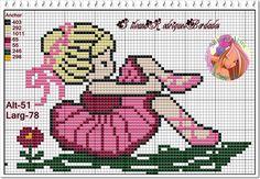 Ballerina perler bead pattern