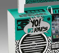 Yo! MTV Raps Boombox - coming soon
