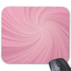 Pink spiral mouse pad $12.10