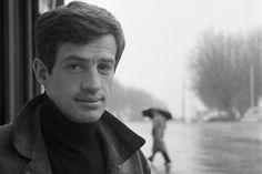 Jean-Paul Belmondo photographed by François Gragnon, Jeanne Moreau, Cannes, Samuel Beckett, Jean Luc Godard, Delon, Cinema, Paris Match, The New Wave, French Films