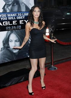 Megan Fox Photos - Celebrities at the 'Eagle Eye' Premiere - Zimbio
